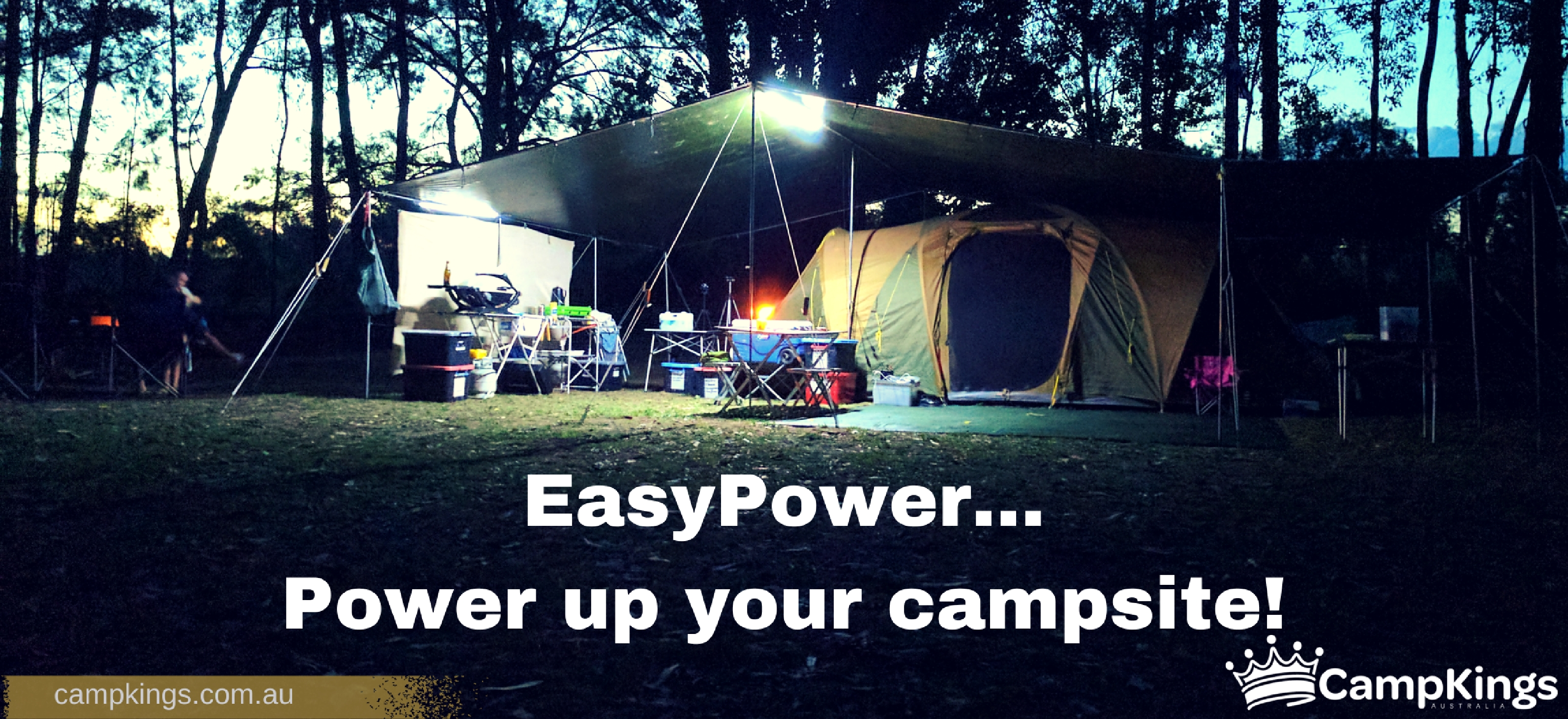 Easy Power your campsite